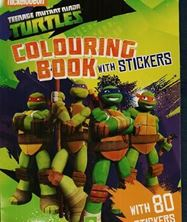 Image de Colouring Book with Stickers - Turtles