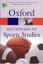 Picture of A dictionary of sports studies