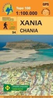 Χανιά / Chania (χάρτης 1:100.000)