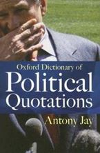 Εικόνα της Oxford Dictionary of Political Quotations