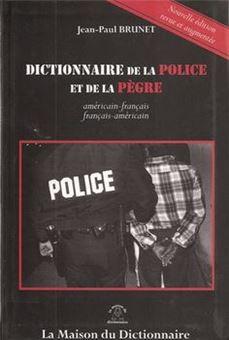 Picture of Dictionnaire de la police et de la pègre
