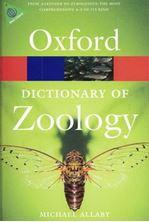 Εικόνα της Dictionary of zoology