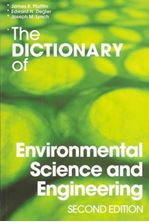 Picture of The Dictionary of Environmental Science and Engineering