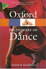 Picture of The Oxford dictionary of dance