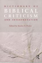 Image de Dictionary of Biblical Criticism and Interpretation