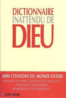 Picture of Dictionnaire inattendu de Dieu