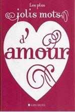 Image de Les plus jolis mots d'amour
