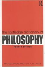 Picture of The Routledge Dictionary of Philosophy