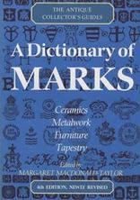 Image de A Dictionary Of Marks