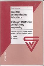 Εικόνα της Dictionary of refractory and refractory engineering - Feuerfest und Feuerfestbau Wörterbuch
