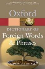 Image de Oxford Dictionary of Foreign Words and Phrases