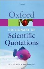 Εικόνα της Oxford Dictionary of Scientific Quotations