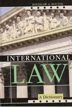 Εικόνα της International Law : A Dictionary