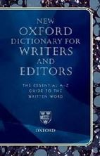 Εικόνα της New Oxford Dictionary for Writers and Editors: The Essential A-Z Guide to the Written Word
