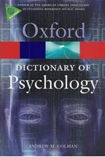 Image de A Dictionary of Psychology