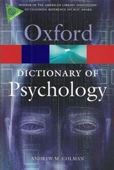 Image sur A Dictionary of Psychology