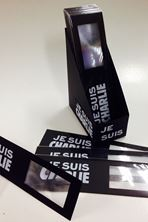 Picture of Marque-pages loupe : Je suis Charlie