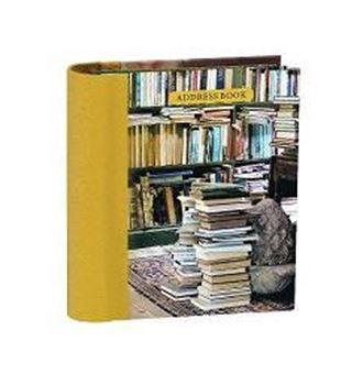 Picture of At Home with Books Mini Hardback Address Book
