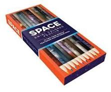 Picture of Space Swirl Colored Pencils: 10 Two-Tone Pencils Featuring Photos from NASA