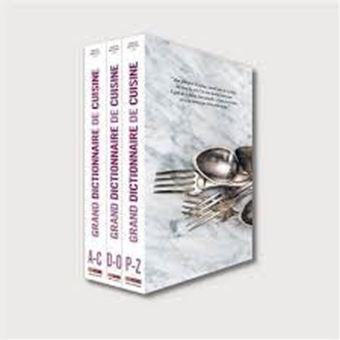 Image sur Grand dictionnaire de cuisine