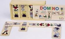 Εικόνα της Domino με ζώα (GoKi Animal Domino Game in Wooden Box)