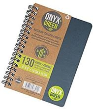 """Picture of Notebook, 4""""x6,"""" Side Coil, 65 Ruled Sheets, Stone Pape"""