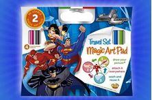 Εικόνα της Travel Set Magic Art Pad - Justice League