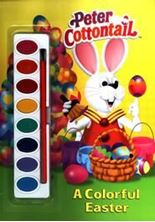 Εικόνα της A Colorful Easter - Peter Cottontail (Paint Box Book)