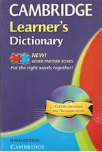 Εικόνα της Cambridge Learner's Dictionary (+CD-ROM)
