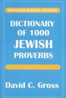Image sur Dictionary of 1,000 Jewish Proverbs