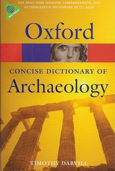 Concise Oxford dictionary of Archeology