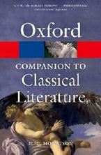 Εικόνα της The Oxford Companion to Classical Literature