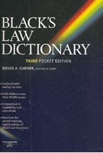 Picture of Black's Law Pocket Dictionary