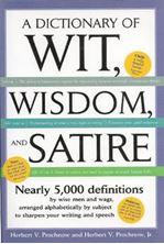Εικόνα της Dictionary of Wit Wisdom And Satire