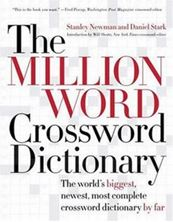 Picture of The Million Word Crossword Dictionary