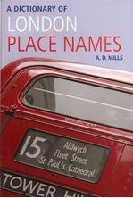 Εικόνα της Dictionary of London Place Names