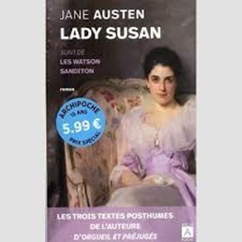 Lady Susan - Suivi de Les Watson et de Sanditon