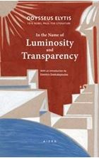 Picture of In the Name of Luminosity and Transparency