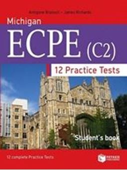 Image sur 12 Practice tests for Michigan ECPE (student's book)