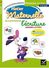 Picture of Je commence l'écriture Grandes lettres - Moyenne Section 4-5 ans