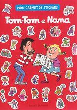 Image de Tom-Tom et Nana : mon carnet de stickers