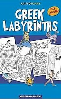 Greek Labyrinths (With Stickers)