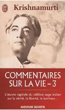 Picture of Commentaires sur la vie . Volume 3