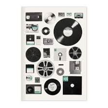 Picture of Vintage Recordings and Data A5 Journal