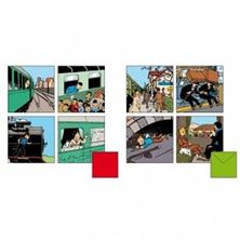Picture of Double Postcard - Set of 8 - Train