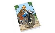 Picture of NOTEBOOK 125 x 200 mm - TINTIN MOTORBIKE