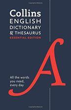Εικόνα της Collins English Dictionary and Thesaurus Essential edition: All-in-one support for everyday use