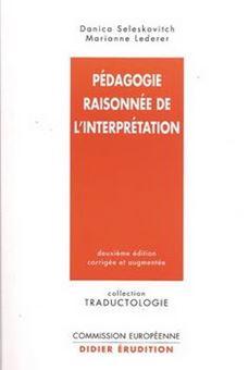 Pédagogie raisonnée de l'interprétation