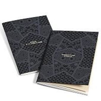 """Exercise-book A5 """"Lace avana"""" A5 - 64 pg lines"""