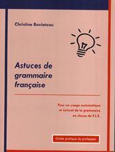Image de Astuces de grammaire francaise